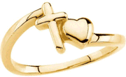 Love Waits Chastity Ring R-16678